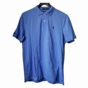 Polo Ralph Lauren mens classic-fit blue polo shirt